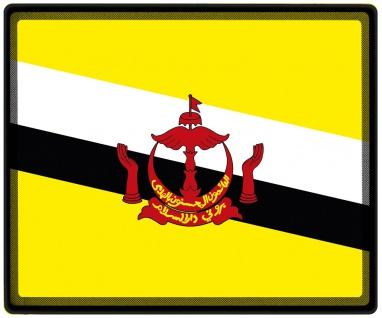Mousepad Mauspad mit Motiv - Brunei Fahne - 82031 - Gr. ca. 24 x 20 cm