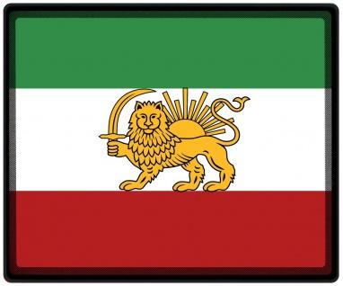 Mousepad Mauspad mit Motiv - Iran Fahne - 82067 - Gr. ca. 24 x 20 cm
