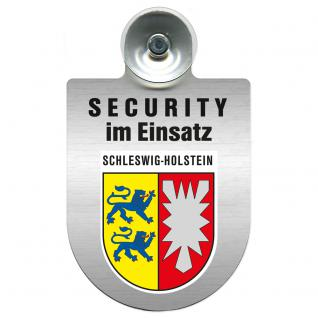 Einsatzschild Windschutzscheibe - Security im Einsatz - incl. Regionen nach Wahl - 309350 Region Schleswig-Holstein