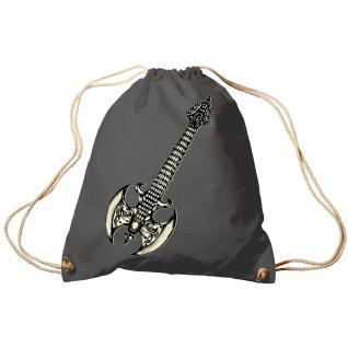 Trend-Bag Turnbeutel Sporttasche Rucksack mit Print - Gitarre Elektrogitarre - TB10852