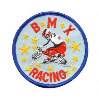 Aufnäher Patches rund BMX Racing Gr. ca. 8 cm 20638