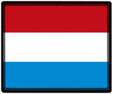 Mousepad Mauspad mit Motiv - Luxemburg Fahne Fußball Fußballschuhe - 82096 - Gr. ca. 24 x 20 cm - Vorschau