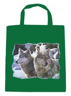 (08870/2-grün) Umweltfreundliche Baumwoll - Tasche , ca. 28 x 43 cm mit Aufdruck