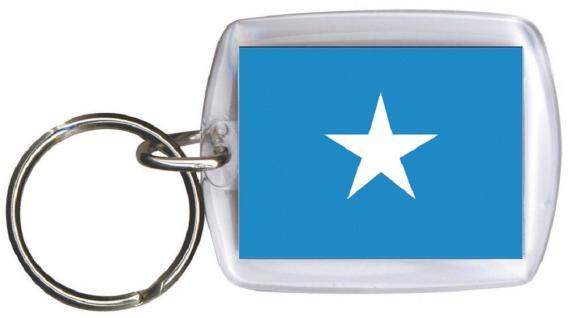 Schlüsselanhänger Anhänger - SOMALIA - Gr. ca. 4x5cm - 81153 - Keyholder WM Länder