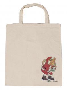 (08903/3-natur) Umweltfreundliche Baumwoll - Tasche , ca. 38 x 43 cm mit Aufdruck