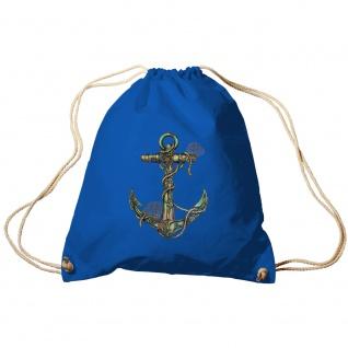 Sporttasche Turnbeutel Trend-Bag Print Maritim Anker Anchor TB10987