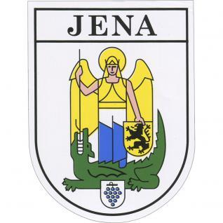 Aufkleber - Jena Wappen - 301567/1 - Gr. ca. 7 x 9 cm