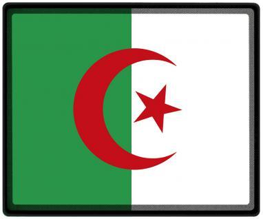Mousepad Mauspad mit Motiv - Algerien Fahne Fußball Fußballschuhe - 82009 - Gr. ca. 24 x 20 cm