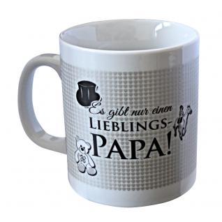 Keramiktasse mit Print Lieblings-Papa 57534