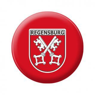 Magnet - WAPPEN REGENSBURG - Gr. ca. 5, 7 cm - 16074 - Küchenmagnet