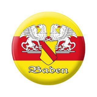 Kühlschrankmagnet - Wappen Baden - Gr. ca. 5, 7 cm - 16255 - Küchenmagnet