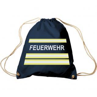 Turnbeutel mit Aufdruck - Feuerwehr - 65053 - Trend-Bag Sporttasche Rucksack