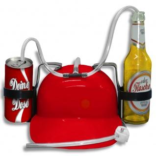 Trinkhelm Spaßhelm Neutral Fun Spaß Party Feier Fest - 251600 rot