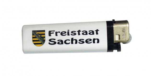 Feuerzeug Einwegfeuerzeug Anzünder - Freistaat Sachsen - 01060 weiß