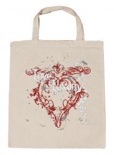(U10835)Umweltfreundliche Baumwoll - Tasche , ca. 28 x 43 cm mit Aufdruck in 7 Farben