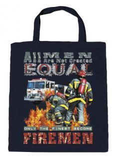 Umweltfreundliche Baumwolltasche mit Aufdruck - Firemen - 12382
