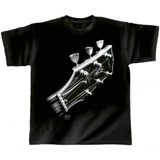 Designer T-Shirt - Cosmic guitar - von ROCK YOU MUSIC SHIRTS - 10385 - Gr. L