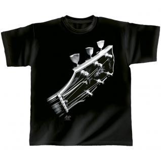 Designer T-Shirt - Cosmic guitar - von ROCK YOU MUSIC SHIRTS - 10385 - Gr. S