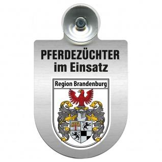 Einsatzschild Windschutzscheibe incl. Saugnapf - Pferdezüchter im Einsatz - 309389 Region Brandenburg