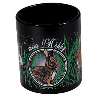 Tasse Kaffeebecher mit Print Kaninchen Hasen Mein Hobby 57499 - Vorschau 2