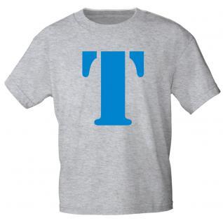 """Marken T-Shirt mit brillantem Aufdruck """" T"""" 85121-T"""