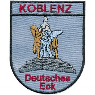 AUFNÄHER - Koblenz - 00047 - Gr. ca 10 x 9cm - Patches Stick Applikation