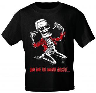 Designer T-Shirt - Und wie ich wieder.... - von ROCK YOU MUSIC SHIRTS - 10783 - Gr. XXL