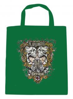 (U10834)Umweltfreundliche Baumwoll - Tasche , ca. 28 x 43 cm mit Aufdruck in 7 Farben grün