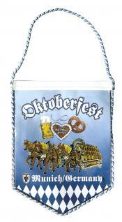 Wimpel - Oktoberfest Bayern - 07733 ca. 15cm - Vorschau