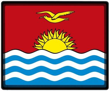 Mousepad Mauspad mit Motiv - Kiribati Fahne - 82083 - Gr. ca. 24 x 20 cm