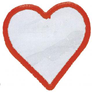 AUFNÄHER - Heart - 00903 - Gr. ca. 8 cm - Patches Stick ApplikationCHES - Herz - NEU - 00903 - Gr. ca. 8cm Applikation Stick Aufbügler