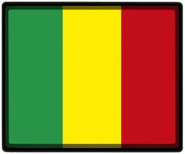 Mousepad Mauspad mit Motiv - Mali Fahne Fußball Fußballschuhe - 82101 - Gr. ca. 24 x 20 cm