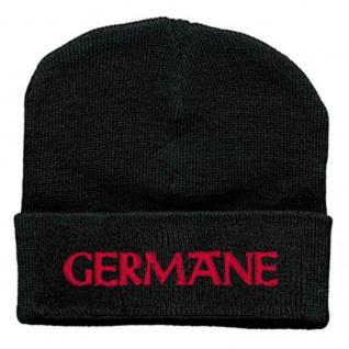 Hip-Hop Mütze Germane 51129 schwarz