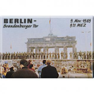 Magnet - Berlin 1989 - Gr. ca. 8 x 5, 5 cm - 38703 - Küchenmagnet - Vorschau