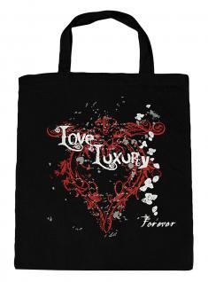 (U10835)Umweltfreundliche Baumwoll - Tasche , ca. 28 x 43 cm mit Aufdruck in 7 Farben schwarz
