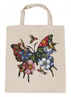 (U06993)Umweltfreundliche Baumwoll - Tasche , ca. 28 x 43 cm mit Aufdruck in 7 Farben natur