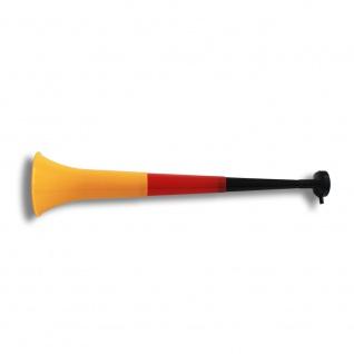 Vuvuzela Horn Fan-Trompete Fussball versch. Länderfarben - Gesamtlänge ca. 55cm - 4teilig Deutschland