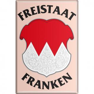 MAGNET - Franken - Gr. ca. 8x5, 5 cm - 38266 - Küchenmagnet