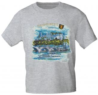 T-Shirt - Souvenir City Line - HEIDELBERG AM NECKAR - 09615 - Gr. XL