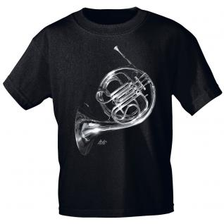 Designer T-Shirt - French Horn - von ROCK YOU MUSIC SHIRTS - 10743 - Gr. M