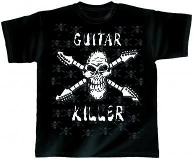 Designer T-Shirt - Guitar Killer - von ROCK YOU MUSIC SHIRTS - 10409 - Gr. M