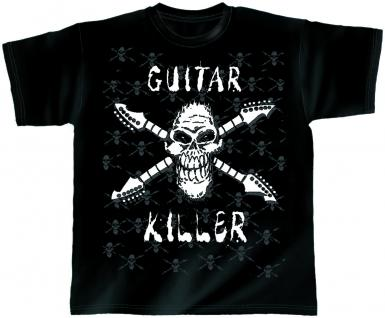 Designer T-Shirt - Guitar Killer - von ROCK YOU MUSIC SHIRTS - 10409 - Gr. XL
