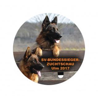 Aufkleber - Schäferhundmesse Ulm 2017 - 301629/1 - Gr. ca. 10cm