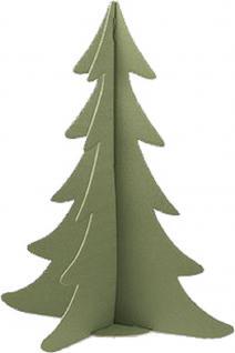 Deko-Pappaufsteller Aufsteller - Tannenbaum - 75696 - Höhe ca. 36 cm