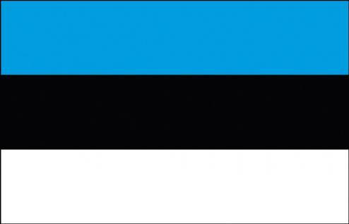 Schwenkfahne - Estland - Gr. ca. 40x30cm - 77047 - Länderfahne Stockländerfahne