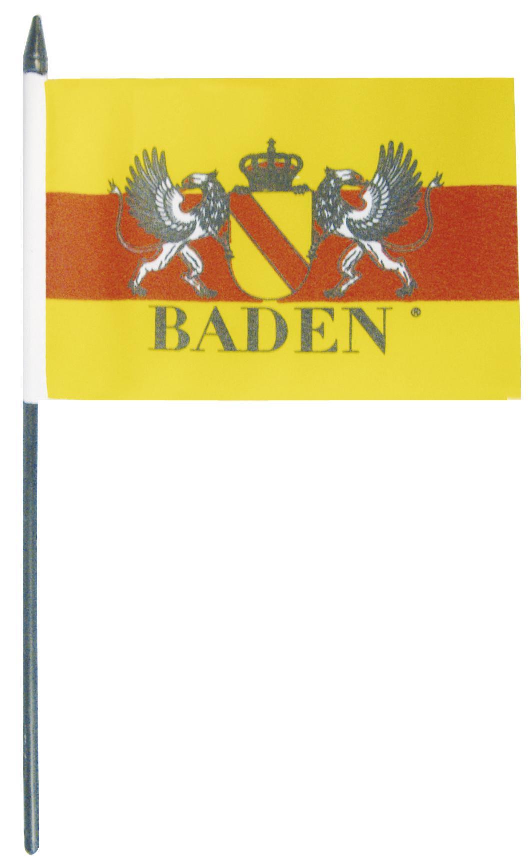 Stock Fahne Wappen Baden Gr Ca 40 X 30 Cm 07933 Schwenkfahne Mit Holzstock Fan Flagge Kaufen Bei Fan Omenal Geschenkartikel Gmbh