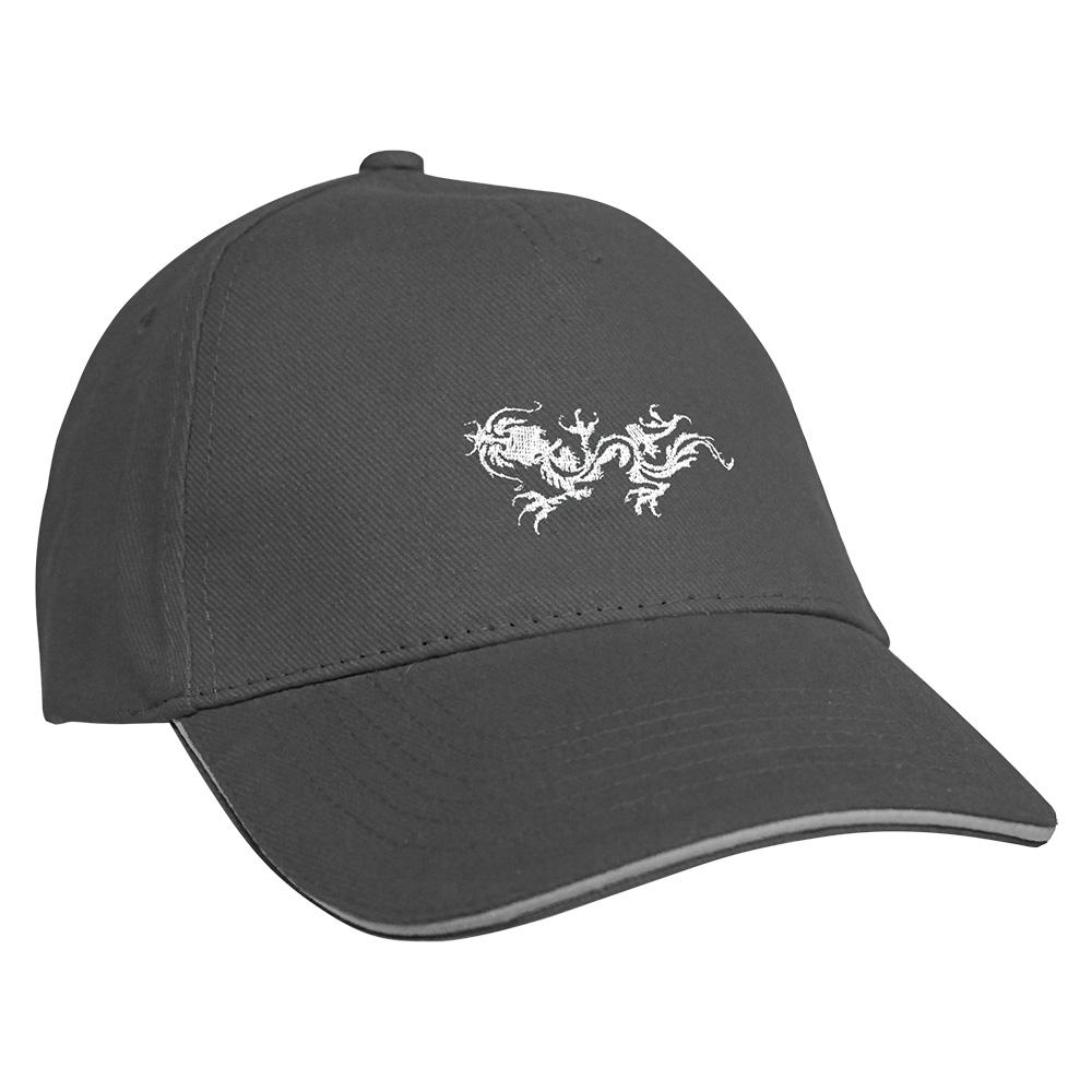 Fan-O-Menal Textilien Baseballcap mit Einstickung Tribal Drache 68220