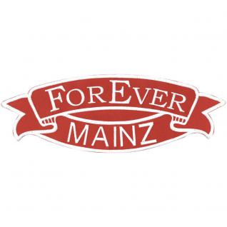 Rückenaufnäher - MAINZ Forever - 07351 - Gr. ca. 37 x 13 cm - Patches Stick Applikation