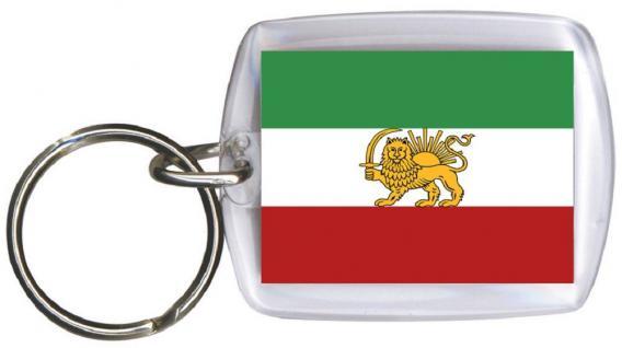 Schlüsselanhänger Keyholder - IRAN - Gr. ca. 4x5cm - 81067 - WM Länder