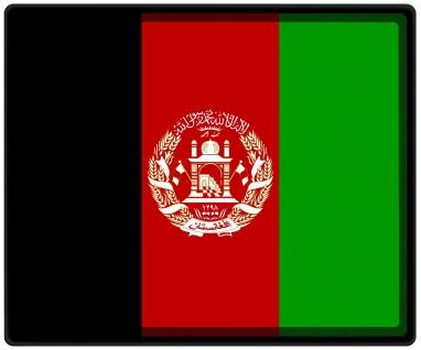 Mousepad Mauspad mit Motiv - Afghanistan Fahne Fußball Fußballschuhe - 82005 - Gr. ca. 24 x 20 cm